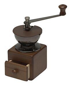 Hario koffiemolen 8,4 x 8,4 cm hout bruin