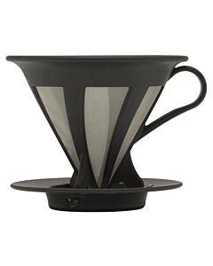 Hario Caféor opschenkfilter 1- tot 4-kops kunststof zwart