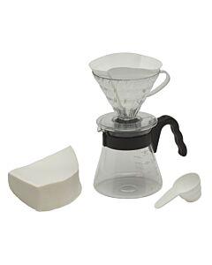 Hario Pour over Kit V60 koffie opschenkfilterset 4-delig