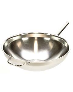 Demeyere Apollo wok met handgreep en tegengreep ø 36 cm rvs