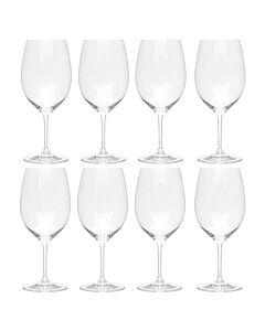 Riedel Vinum Bordeaux rode wijnglas 620 ml kristalglas 8 stuks