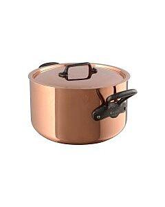 Mauviel M'250 kookpan ø 28 cm koper gietijzeren handgreep