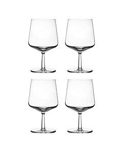 Iittala Essence bierglas 480 ml glas transparant 4 stuks