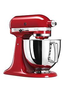 KitchenAid Artisan Elegance standmixer 4,8 liter Keizerrood - 5KSM175PSEER