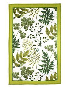 Ulster Weavers RHS Foliage theedoek katoen groen