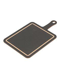 Epicurean Cut & Serve snij & serveerplank 31 x 25 cm houtcomposiet zwart