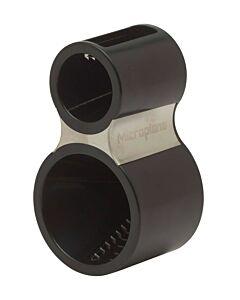 Microplane spiraalsnijder 13 cm kunststof zwart