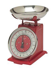 Küchenprofi weegschaal 2 kg rood
