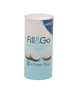 Brita Fill & Go - oud model filters koker 8 stuks