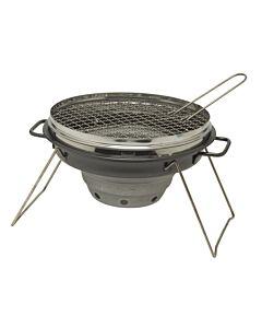 Camerons Portable Outdoor Grill - inklapbare barbecue ø 30 cm