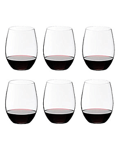 Riedel The O Wine Tumbler Cabernet/Merlot wijnglas 600 ml kristalglas 6 stuks