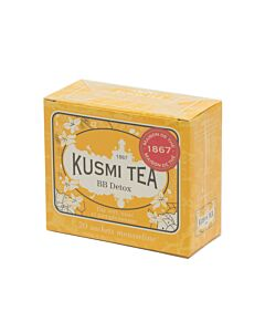 Kusmi Tea BB Detox thee 20 zakjes geel