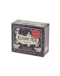 Kusmi Tea Be Cool thee 20 zakjes paars