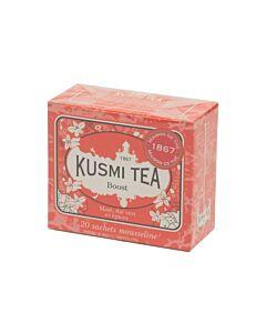 Kusmi Tea Boost thee 20 zakjes rood