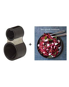 Microplane spiraalsnijder + Het spirelli kookboek