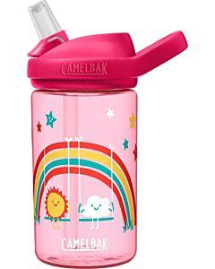 Camelbak Eddy Kids drinkfles 400 ml kunststof Rainbow Park