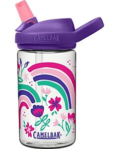 Camelbak Eddy Kids drinkfles 400 ml kunststof Rainbow Floral