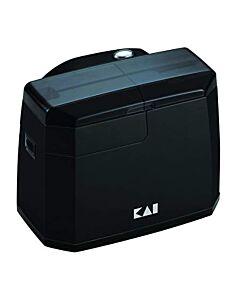 Kai elektrische messenslijper 13,8 cm kunststof zwart