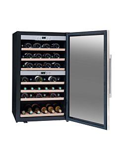 La Sommelière temperatuurkast wijn 66 flessen