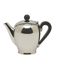 Alessi Bombé thee- of koffiepot 8-kops rvs glans