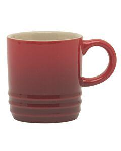 Le Creuset espressomok 70 ml aardewerk kersrood
