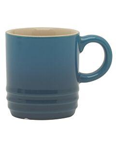 Le Creuset espressomok 70 ml aardewerk Marseilleblauw
