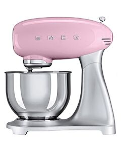 Smeg 50's style standmixer 4,8 liter roze