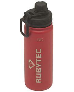 Rubytec Shira thermosdrinkfles 550 ml rvs rood