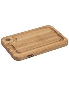 Boos Blocks Prestige snijplank met sapgeul 40,5 x 25 x 3,5 cm esdoornhout