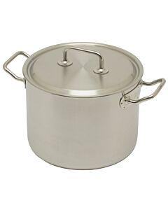 Spring Brigade Premium hoge kookpan 6,5 liter ø 22 cm rvs glans