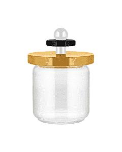 Alessi Twergi ES16/75 1 voorraadpot 750 ml glas hout geel