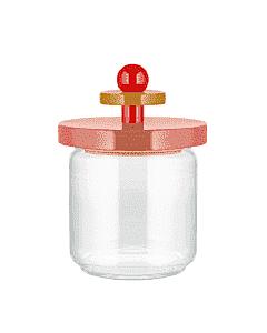 Alessi Twergi ES16/75 2 voorraadpot 750 ml glas hout roze
