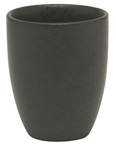 Bitz beker 300 ml aardewerk zwart
