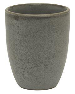 Bitz beker 300 ml aardewerk grijs