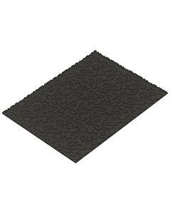 Silikomart Professional structuurmat Arabesque 25 x 18,5 cm silicone zwart