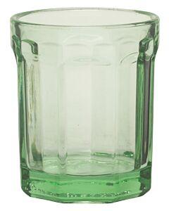 Serax Fish & Fish limonadeglas ø 7 cm glas groen