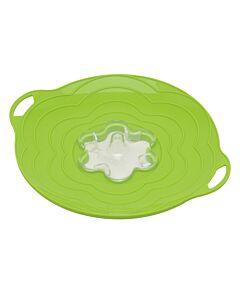 Silikomart Vapo Twist deksel met toevoergat ø 30 cm silicone groen