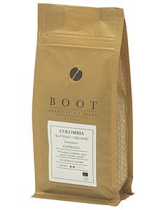 Boot Koffie Colombia Kachalu Organic Espresso koffiebonen 250 gram