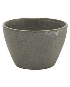 Bitz conische kom ø 13 cm hoogte 8,5 cm grijs gemarmerde kleur