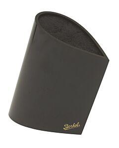 Berkel Bag messenblok druppelvorm hout zwart
