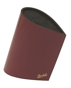 Berkel Bag messenblok druppelvorm hout rood