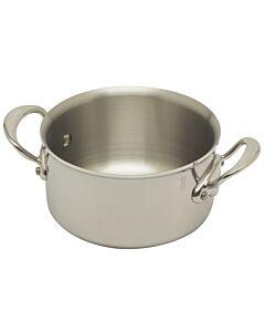 Mauviel M'Cook kookpan zonder deksel ø 16 cm rvs glans