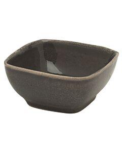 Broste Copenhagen Nordic Coal kom 8 x 7,5 cm aardewerk bruin