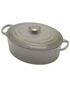 Le Creuset Signature braadpan ovaal 4,7 liter ø 29 cm gietijzer mist grey