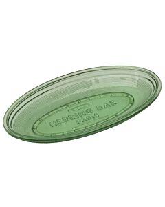Serax Fish & Fish schaal ovaal 26 x 14 cm glas groen