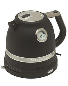 KitchenAid Artisan waterkoker 1,5 liter aluminium vulkaanzwart