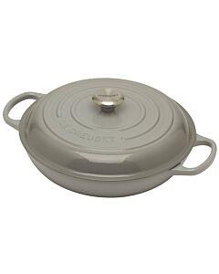 Le Creuset multifunctionele braadpan 3,2 liter ø 30 cm gietijzer mist grey