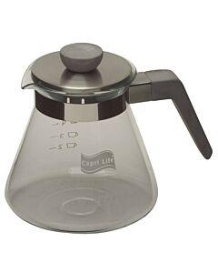 Capri Life koffiepot 600 ml glas en beton