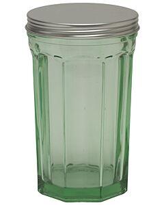 Serax Fish & Fish opbergpot ø 12 x 19,5 cm glas groen