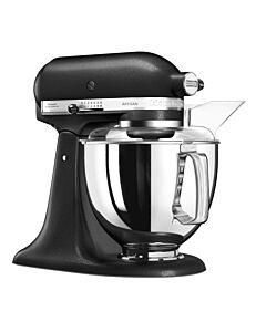 KitchenAid Artisan Elegance standmixer 4,8 liter Vulkaanzwart - 5KSM175PSEBK